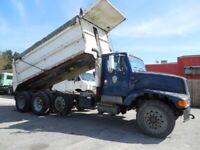 2001 International 2574 Tri Axle Dump 17' Bed 17' Bed