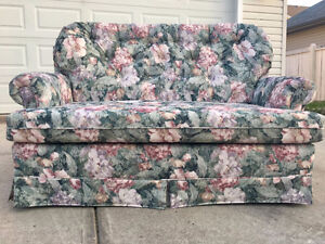 New Floral Sofa Bed - LoveSeat