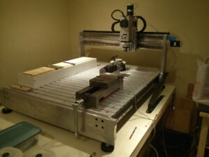 4 Axis 40x48 CNC Router / Milling Machine - Turn-key Package