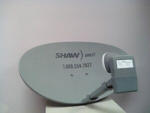 SHAW DIRECT dishes, receivers and installation hardware