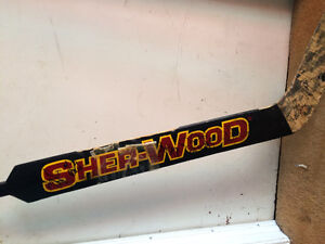 Danny Sabourin Game Used/Team Signed Stick