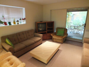 Beautiful And Quiet Garden-Level Suite Available For Rent
