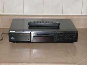 Sony MDS-JE440 Professional Minidisc Recorder/Player with Remote