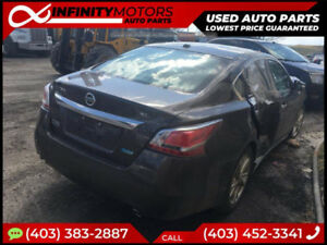 2014 NISSAN ALTIMA SL FOR PARTS PARTING OUT CARS CAR PARTS