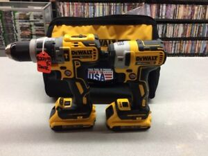 Dewalt Xr brushless combo kit