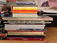 40 books all different on Old Norwich, + 6 bonus books on East Anglia