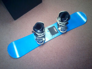 Snowboards, boots, and bindings