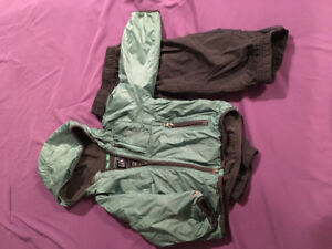 Gap jacket and splash pants size 3