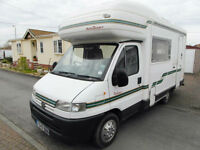 Autosleeper Pollensa - 5 Berth - End Kitchen - 3 Owners