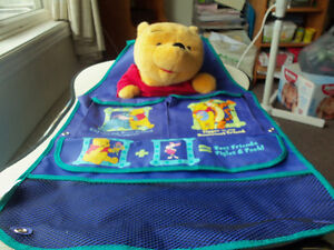 winnie the pooh items- blankets,pillow,pictures etc.