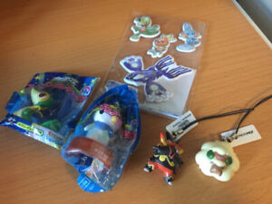 Pokemon Japanese Charms & Stickers
