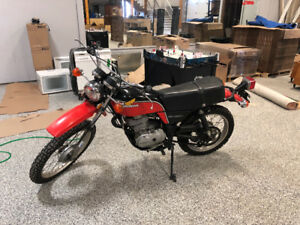 1977 Honda XL350 Street and Trail