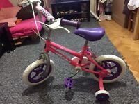 Girl bike good condition