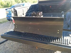 CRAFTSMAN LT1000 LT2000 SNOW PLOW - COMPLETE W/ COUNTER WEIGHTS