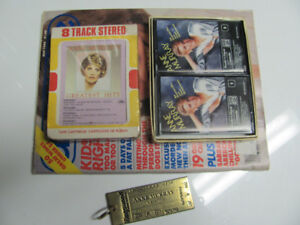 Vintage 1980's Anne Murray Collectible Key Chain Tape Chatelaine