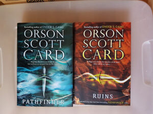 Pathfinder and Ruins by Orson Scott Card