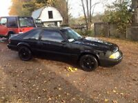 1988 Ford Mustang 5.0 5 speed forsale/trade