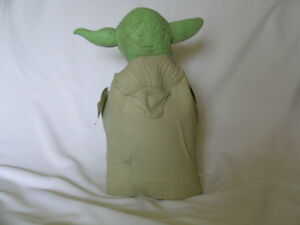 Star Wars Yoda vinyl hand puppet / new with tags Kitchener / Waterloo Kitchener Area image 2