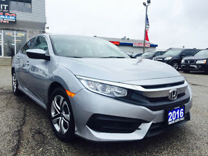 2016 HONDA CIVIC LX./SCREEN/HEATED SEATS/BLUETOOTH