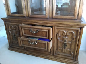 Dining room buffet and cabinet