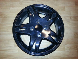 """Set of 16"""" powder coated alloy rims for Honda Accord or Prelude"""