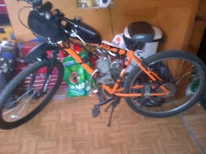 Gas Bike Large Frame and tires Spare Motor Kit