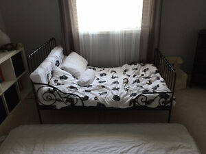 Ikea bed frame and the matress