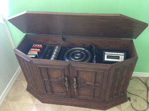 Stereo console