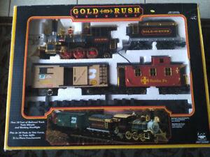 Gold Rush Express model train