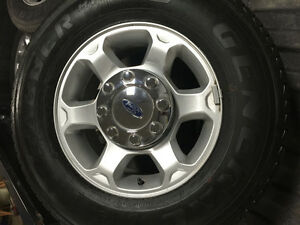 2015 Ford Supeduty 17 inch Alloy wheels/General Grabber HTS