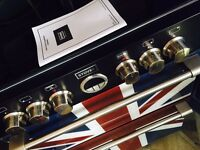 Union Jack stoves freestanding cooker