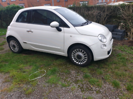Fiat 500 1.2 pop 2009 full leather central locking cd player