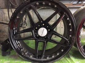 Bmw Ac shnitzer replica alloy wheels , ( m3 ,328,325,330 e36 e46)