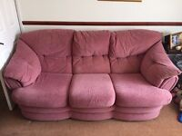 3 seater and matching chair FREE FREE