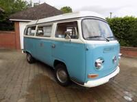 Volkswagen Transporter T2 Camper MANUAL 1971/K