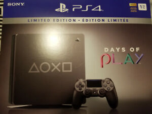 PS4 1 TB Limited Ed