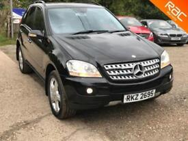 Mercedes-Benz ML320 3.0TD CDI 7 G-Tronic Sport 2006, 84.000 MILES LEATHER/SUEDE