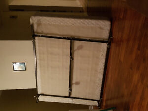 Box Spring and Bed Frame