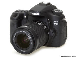 Like New Impeccable Canon EOS 70D For Sale