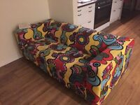 Ikea couch with cover
