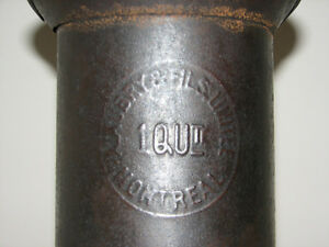 Antique Vintage A. Aubry et Fils Limitee Tin Measure Ware, 1 Qt Kitchener / Waterloo Kitchener Area image 4
