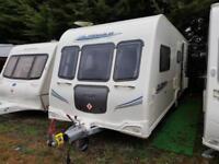 2010 Bailey Pegasus 514 4 Berth End Washroom Caravan with Motor Mover
