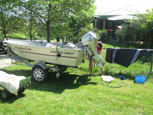 12 foot Aluminum fishing boat - $5200.00 OBO