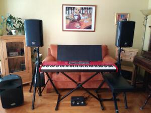 Nord Piano/Haut-parleur/Micros et plus