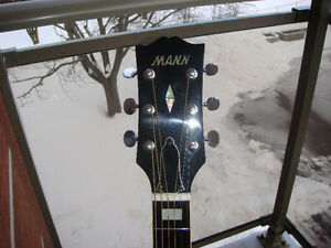 MINT 1970's PRE-LAWSUIT MANN ACOUSTIC A328 MIJ