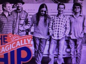 2 tickets Tragically Hip at Rexall