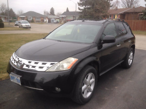 2005 Nissan Murano SE AWD Great Condition