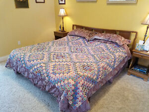 Antique Quilt for King Sized Bed for sale