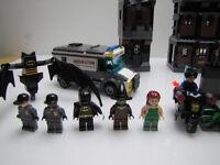 Rare Lego Batman Arkham Asylum Set 7785 Used and Complete