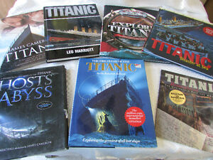 Titanic 7 Books Collector Poster and 3D Tour CD  Millwoods